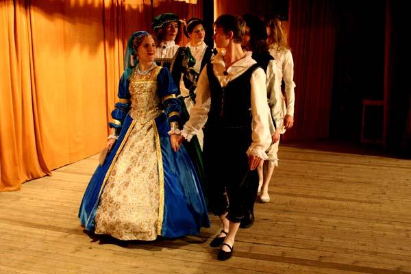 Красота танцев эпохи барокко: Аллеманда