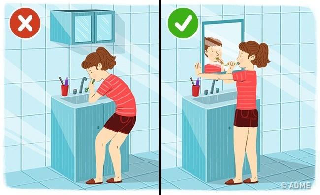 Как уберечь спину при повседневных занятиях