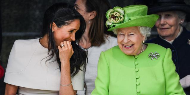 Что жесты и мимика Меган Маркл и Елизаветы II говорят об их отношениях