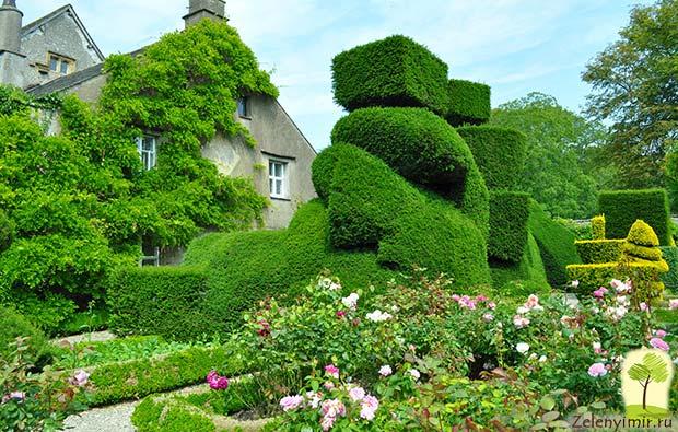 Сад Левенс Холл – самый красивый и самый ароматный сад в мире, Англия - 7