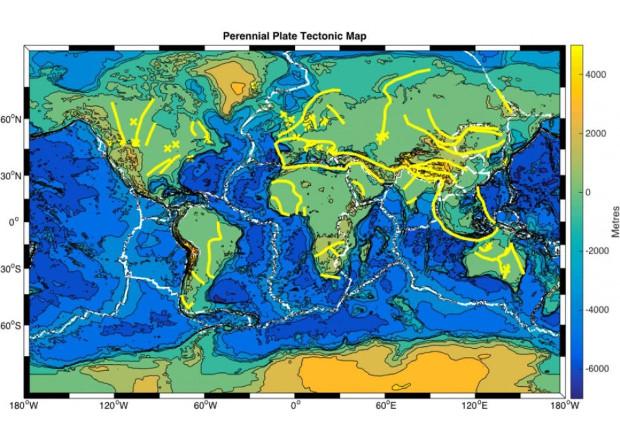 «Шрамы» Земли повлияли на современные геологические процессы