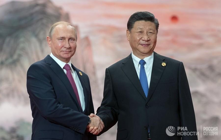 Китай и Россия уходят в отры…