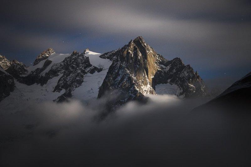 Вершины Валле-д'Аоста, Италия горы, красиво, небо, облака, природа, творчество, фото, фотограф