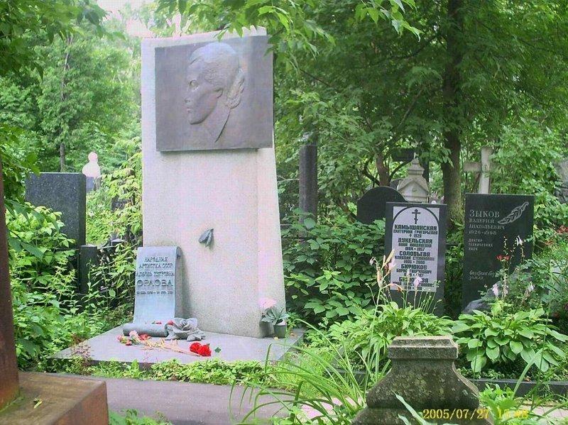 Могила Любови Петровны Орловой
