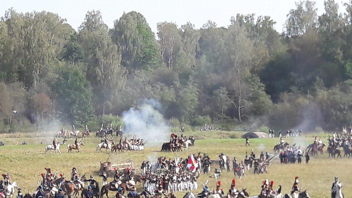 Реконструкция Бородинской битвы