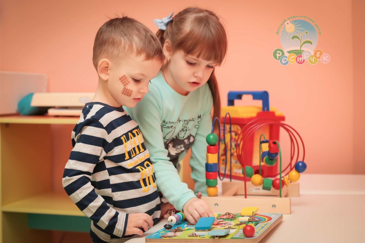 Развитие памяти и внимание детей в ДМЦ «Росточек»