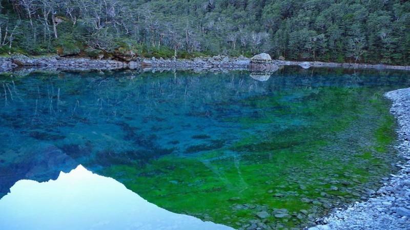 Самое чистое и красивое озеро на планете