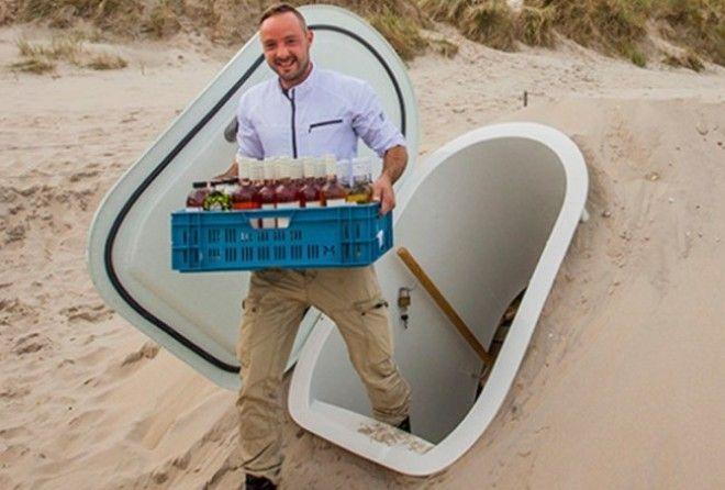 Естественный холодильник - идеальный вариант для хранения продуктов на даче