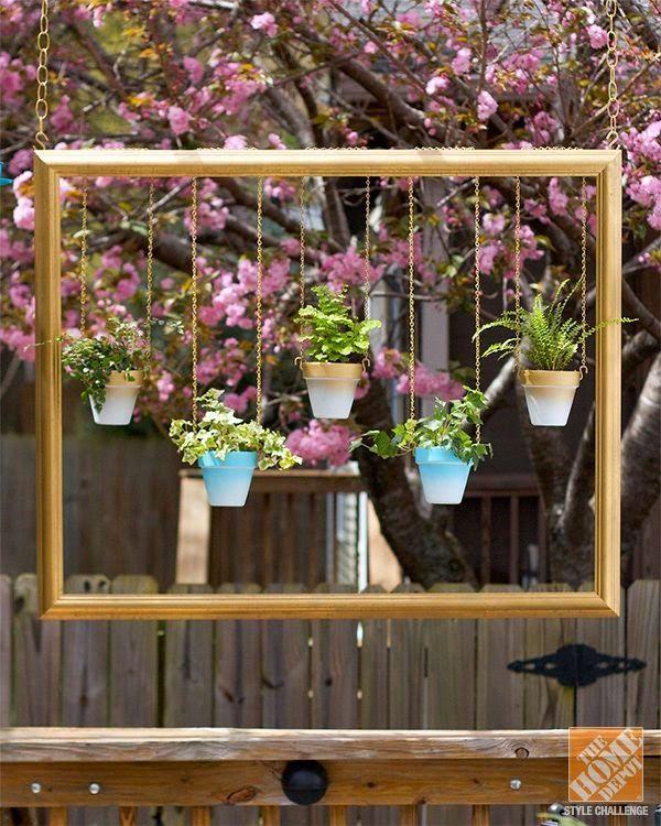 Как сделать подвесной сад 295