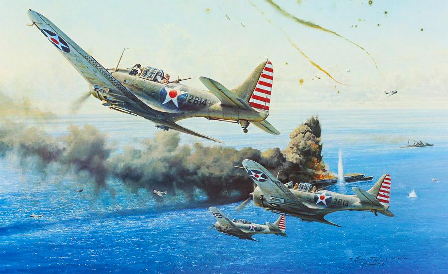 Страницы истории. Бой в Коралловом море. 4–8 мая 1942 года