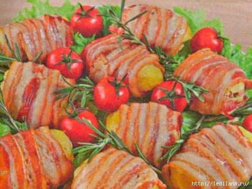 Бутерброды из картофеля