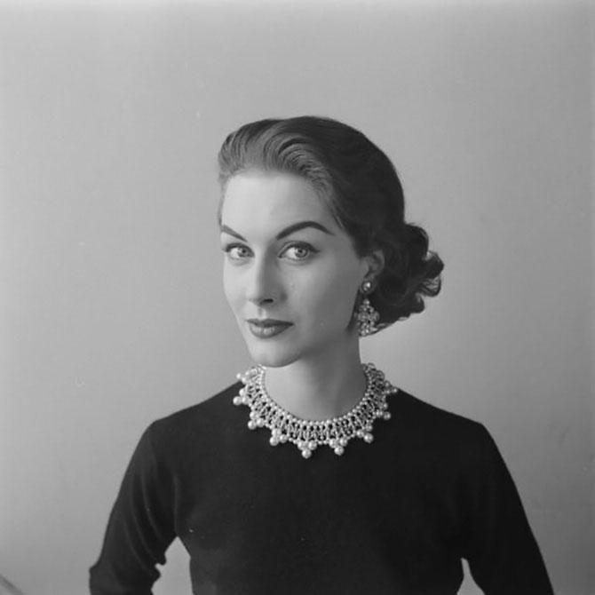 Женские образы 1940-1950-х годов на снимках гениальной Нины Лин