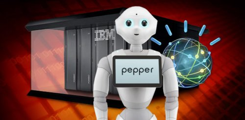Робот Pepper и суперкомпьютер Watson