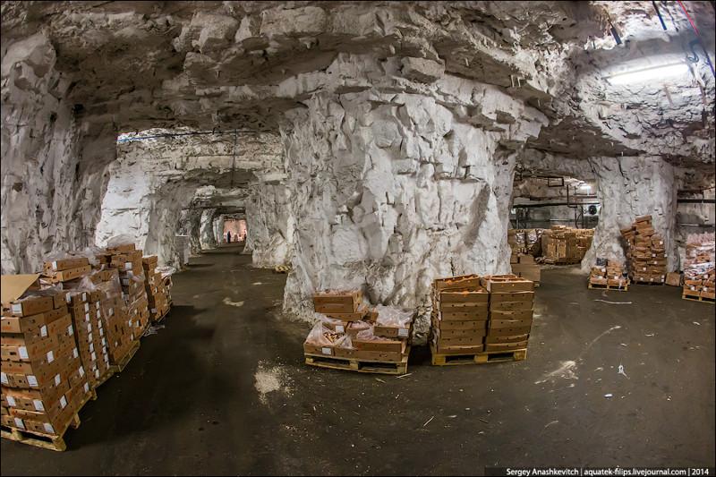 Мегасооружения СССР. Гигантский подземный холодильник(27 фото)