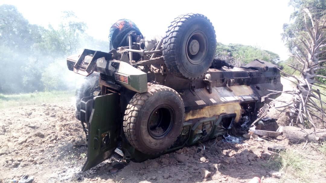 В Кении разгорается скандал относительно качества китайских MRAP CS/VP3 Bigfoot