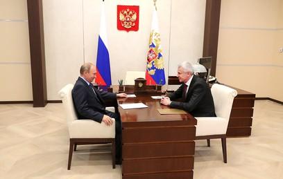 Глава Магаданской области доложил Путину и ситуации в регионе