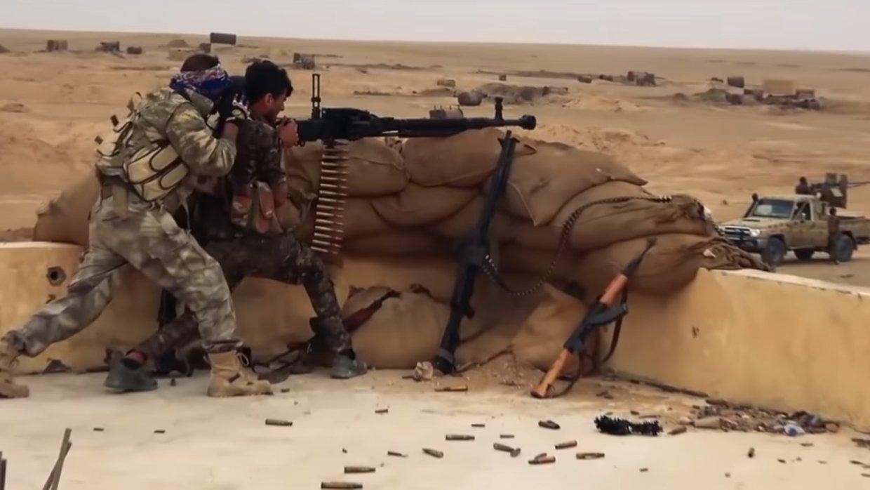 Сирия: курды наступают на по…