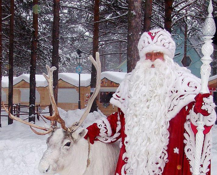 Дед Мороз передал поздравления Путину, Трампу и жителям Земли
