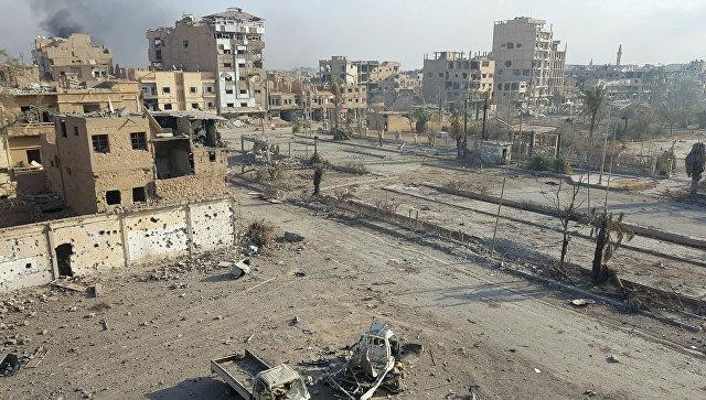 В Минобороны России предупреждают о готовящейся провокации с химоружием в Сирии