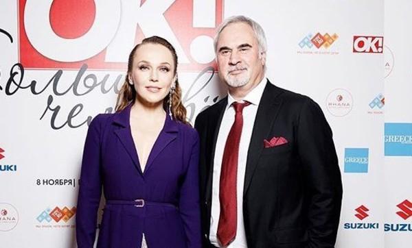 Валерий Меладзе и Альбина Джанабаева впервые вывели в свет младшего сына Луку