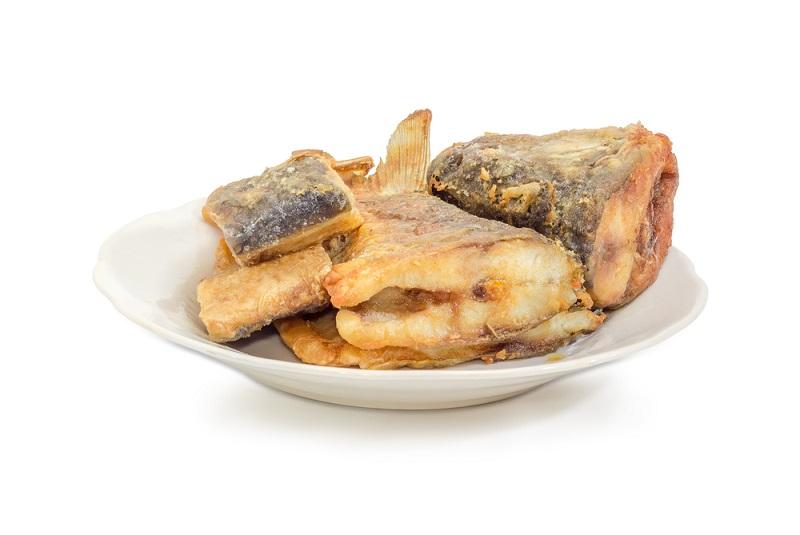 рыба запечённая с овощами в духовке