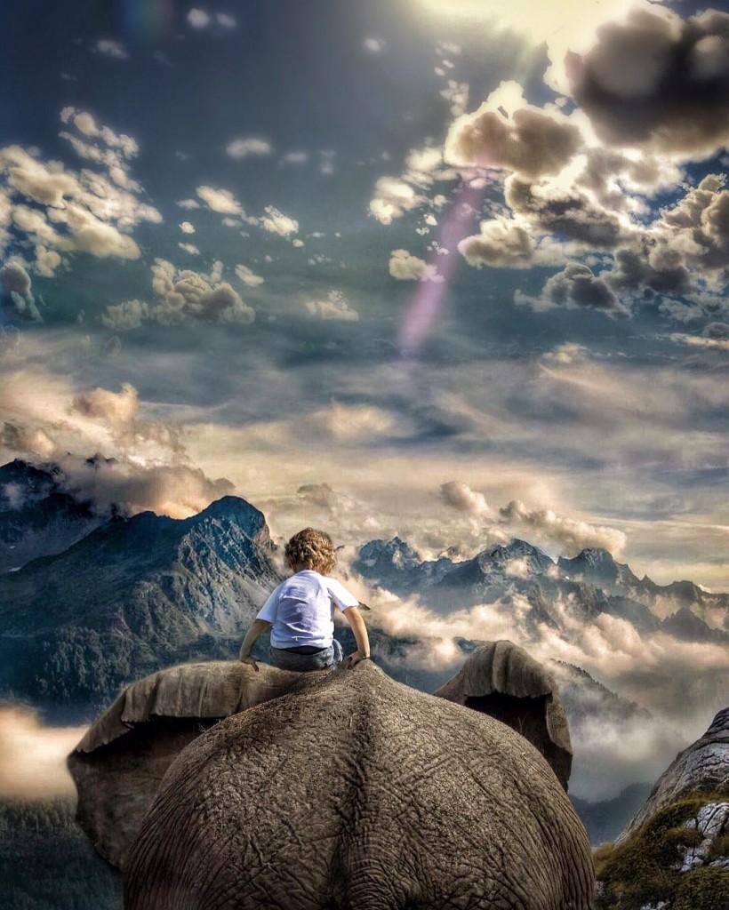 Сказка для детей фотографа Марселя Ван Льюита (MARCEL VAN LUIT)