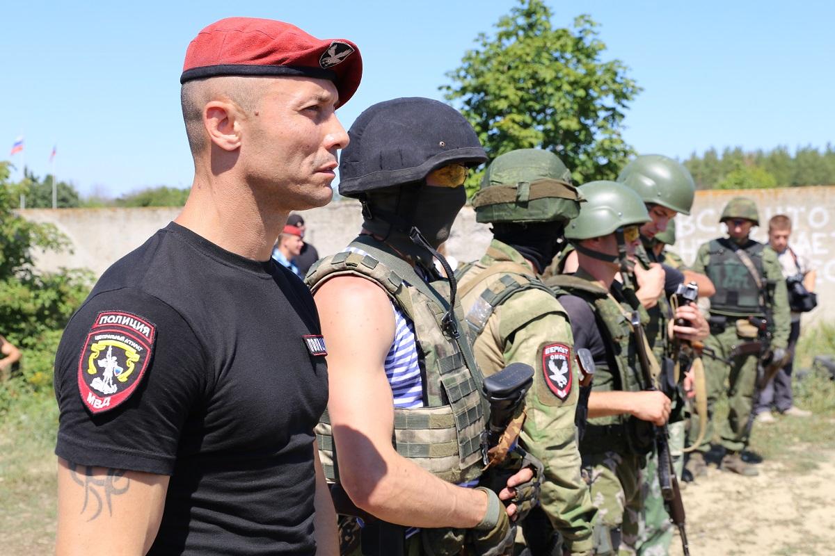 Спецназ ЛНР: «Беркут», СОБР …