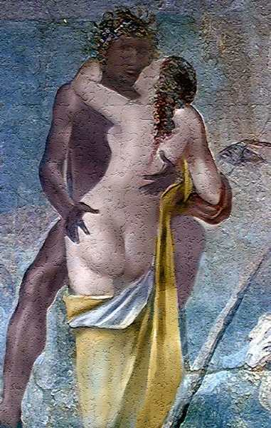 Порнографические фрески в помпеях