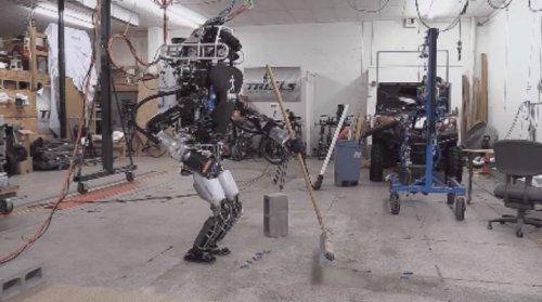 Робот IHMC ATLAS #2