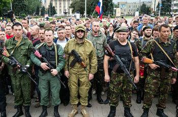 Добровольцы-россияне теперь …