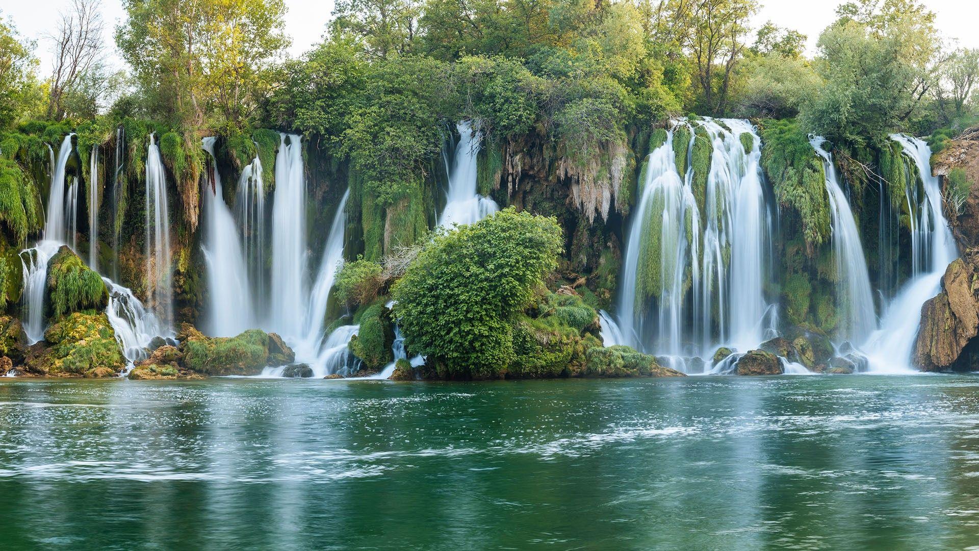 Ещё один оазис зелени и нереальной природы