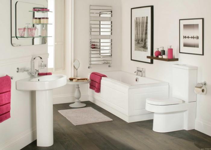 Уютный интерьер ванной комнаты своими руками