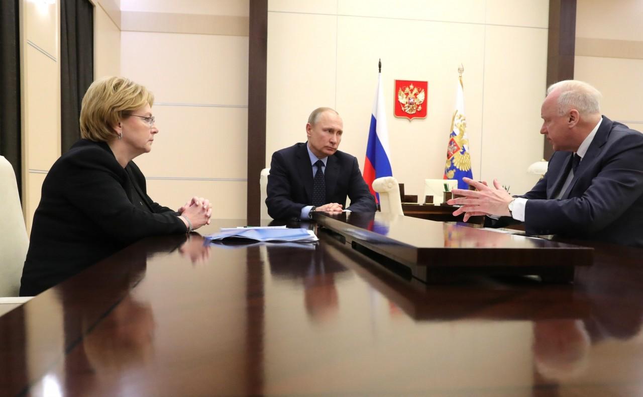 Встреча с Александром Бастрыкиным и Вероникой Скворцовой