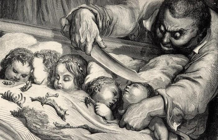 10 любимых детских сказок, которые в оригинале похожи на сценарий хоррора