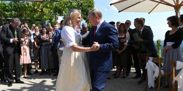 Как прошла свадьба, на которой побывал Путин