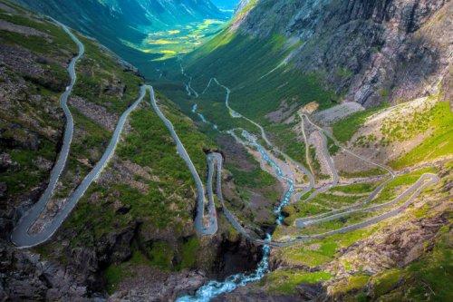 """Лестница троллей"" (Trollstigen), Норвегия"