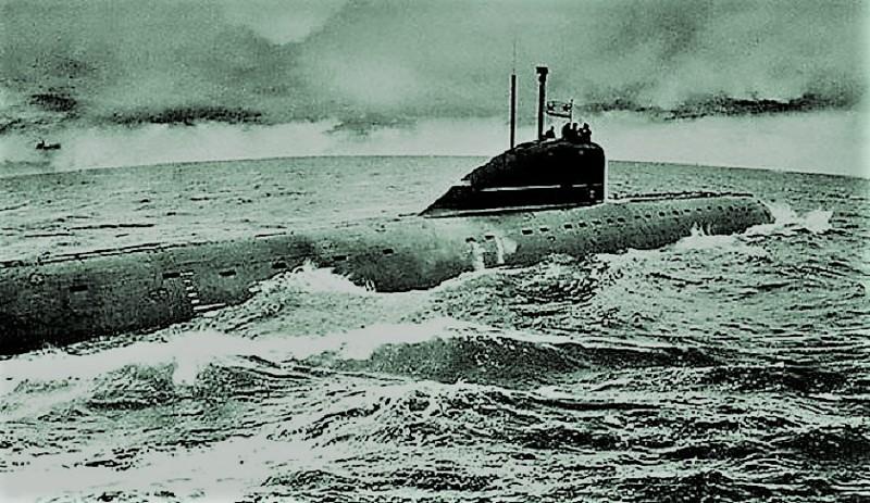 Как горел первый советский атомоход