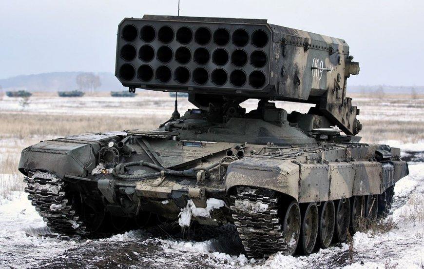 Леонков о тяжелой РСЗО ТОС-1: интерес других стран связан с мощью ракетной установки