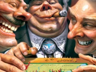 Успешность капиталистической системы, всегда покоится на грабеже. или Капитализм всегда приходит грабить