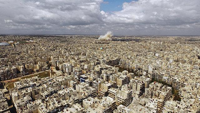 Алеппо оказался под минометным огнем боевиков