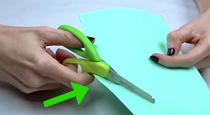 как правильно заострить ножницы