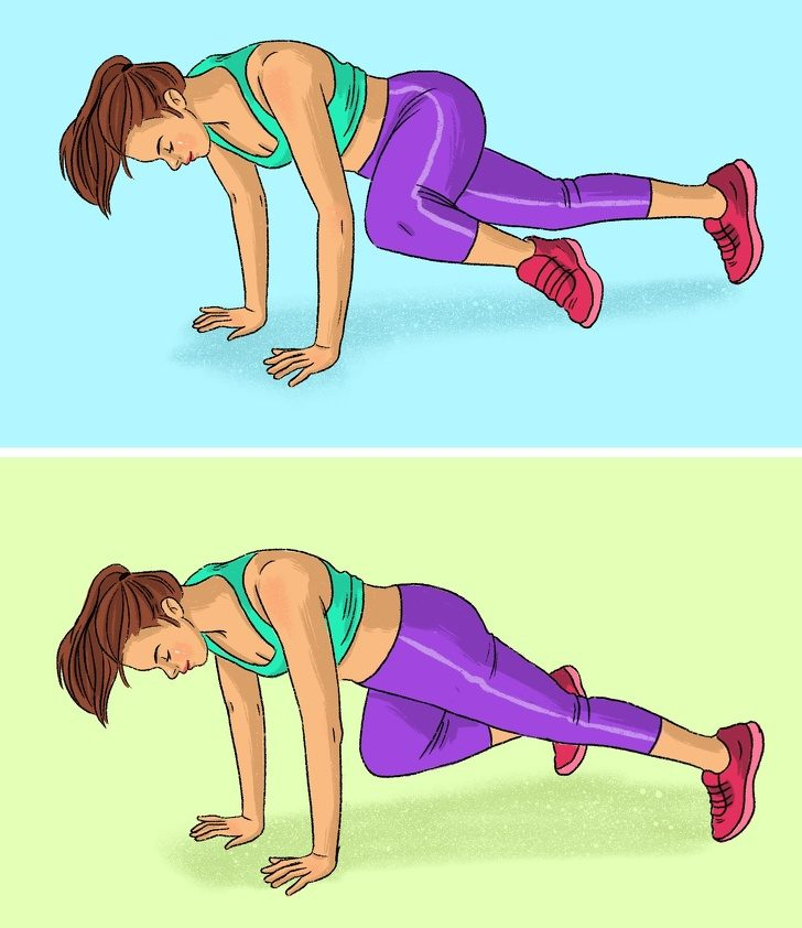 Упражнения, которые помогут вам прокачать ягодицы и бёдра