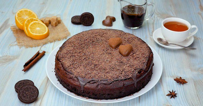 Шоколадный чизкейк с Oreo