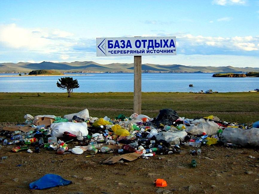 Вопреки законам: на озере Ба…