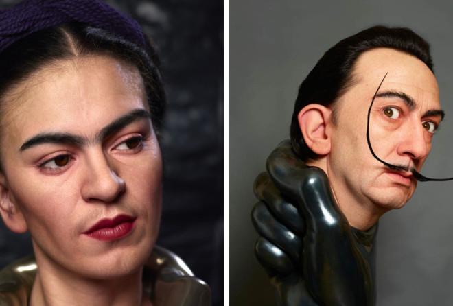 Невероятно реалистичные работы японского скульптора