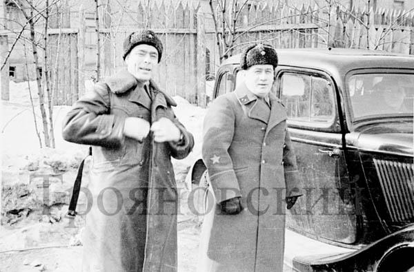 Л.И. Брежнев, 1942-1943 год. Фотографии Марка Трояновского