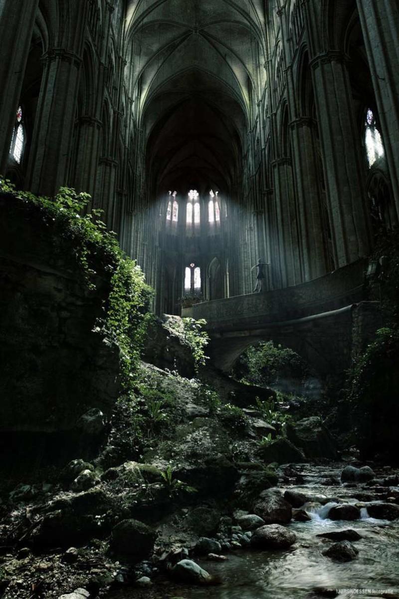 24. 24. Церковь в Сент-Этьене, Франция заброшенные места, крипи, прикол, ужас