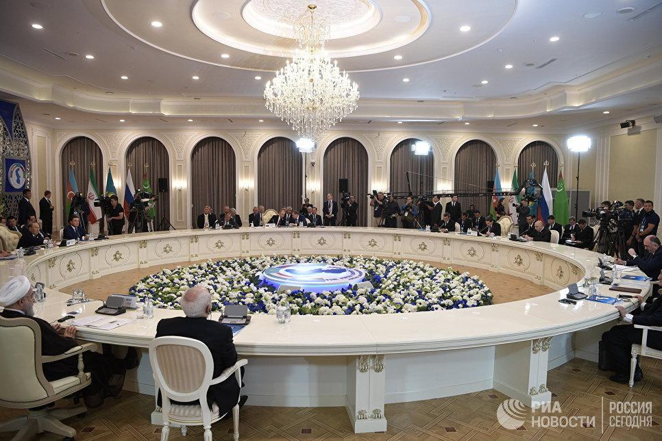 Каспийская конвенция подписана: Крупнейший внутренний бассейн на планете официально поделен.