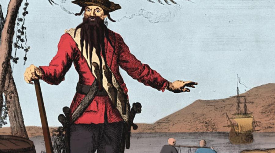 histoy of blackbeard the pirate