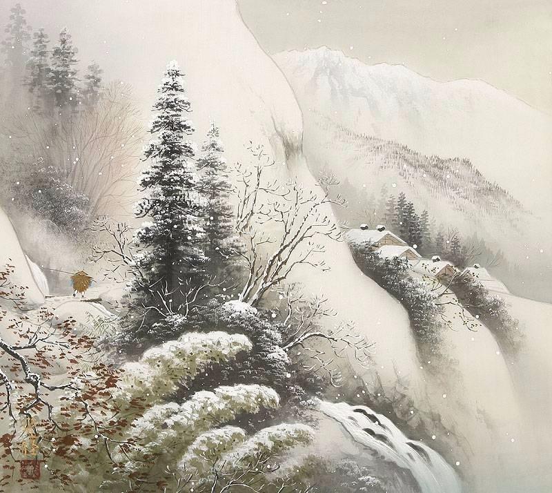 Пейзажная живопись японского художника Коукеи Кодзима (Koukei Kojima)